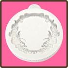 Katy Sue Designs USA . KSD Miniature Frame Floral Circle