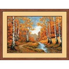 RIOLIS . RIO Golden Grove - Cross Stitch Nature Art Calgary Autumn