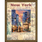 RIOLIS . RIO New York - Cross Stitch Kit City Art Night Calgary