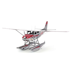 Fascinations . FTN Metal Earth - Cessna 182 Floatplane