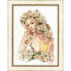RIOLIS . RIO Harmony - Cross Stitch Kit Mother And Daughter Flowers Nature Calgary