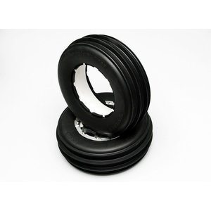 RC 4WD . RC4 FRONT 5T SAND STORM TIRES