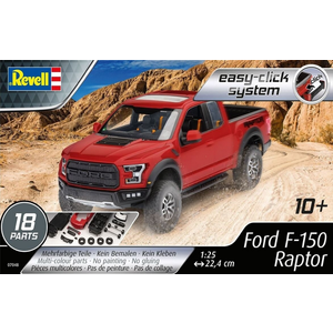 Revell of Germany . RVL 1/25 Ford F-150 Raptor Model Set