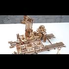 UGears . UGR Rail Mounted Manipulator - 354 pieces
