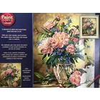 Dimensions . DMS Peony Floral Paint by Number
