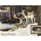 Dimensions . DMS Grey Wolves - Paint By Number Animals Calgary Nature