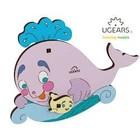 UGears . UGR UGears Whale 3D-puzzle Coloring Model - 8 pieces