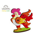 UGears . UGR UGears Rooster 3D-puzzle Coloring Model - 8 pieces Calgary