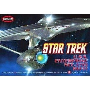 Polar Lights . PLL 1/1000 Enterprise Ncc-1701A