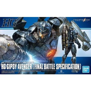 Bandai . BAN HG GIPSY AVENGER (FINAL BATTLE SPECIFICATION)
