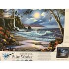 Dimensions . DMS Moonlit Paradise Paint by Number