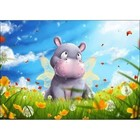 Collection D'Art . CDA Collection D'Art Diamond Embroidery - Little Hippo