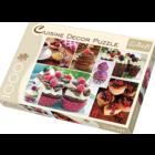 Trefl (puzzles) . TRF 1000 PC Cuisine Decor Muffins Puzzle