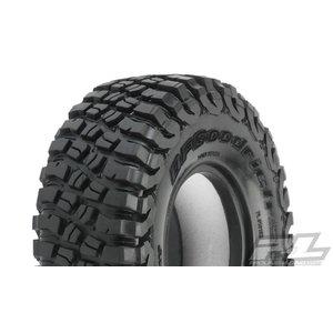 "Pro Line Racing . PRO Class 1 BFGoodrich Mud Terrain Tires T/A KM3 (Red label) 1.9"" (4.19"" OD) Predator (Super Soft) Rock Terrain"