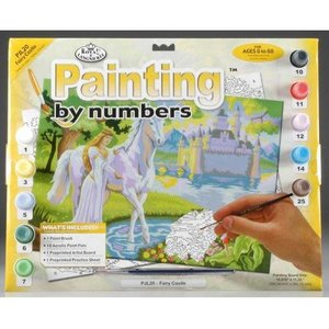 Royal (art supplies) . ROY Fairy Castle Paint By Number