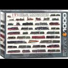 Eurographics Puzzles . EGP Steam Locomotives - 1000pc Puzzle