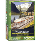 Eurographics Puzzles . EGP The Canadian by Roger Cuillard – 1000pc Puzzle