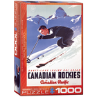 Eurographics Puzzles . EGP Banff lake Louise Ski Areas – 1000pc Puzzle