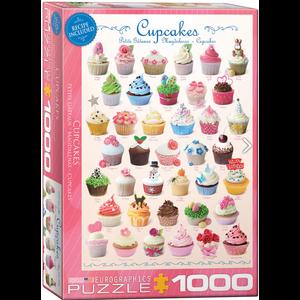 Eurographics Puzzles . EGP Cupcakes 1000pc Puzzle