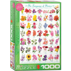 Eurographics Puzzles . EGP The Language of Flowers – 1000pc Puzzle