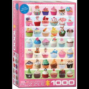 Eurographics Puzzles . EGP Cupcake Celebration – 1000pc Puzzle