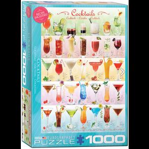 Eurographics Puzzles . EGP Cocktails 1000pc Puzzle