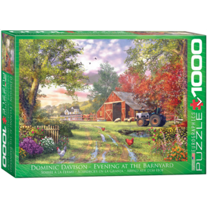 Eurographics Puzzles . EGP Evening at the Barnyard – 1000pc Puzzle