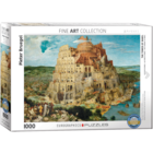Eurographics Puzzles . EGP The Tower of Babel – 1000pc Puzzle