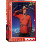 Eurographics Puzzles . EGP RCMP Maintain the Right – 1000pc Puzzle