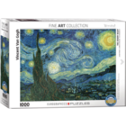Eurographics Puzzles . EGP Starry Night by van Gogh – 1000pc Puzzle