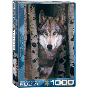 Eurographics Puzzles . EGP Gray Wolf – 1000pc Puzzle