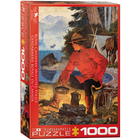 Eurographics Puzzles . EGP Morning Campfire – 1000pc Puzzle