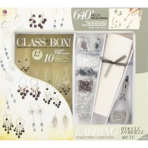 Cousins Corporation . CCA Jewelry Basics Class In A Box Kit - Silver Tone Earrings