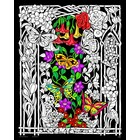 Stuff To Color . SFC Velvet Poster Butterflies & Flowers 16 X 20 Nature Animals Art Calgary