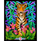 Stuff To Color . SFC 16x20 Velvet Bamboo Tiger Nature Animals Calgary