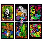 Stuff To Color . SFC Multi Pack Velvet  Panda Set Nature Animals Calgary