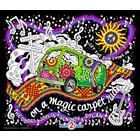 Stuff To Color . SFC Colourable Velvet Magic Love Bus Poster Calgary