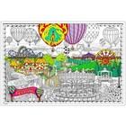Stuff To Color . SFC 22X32.5 Wall Poster Ballon Festival