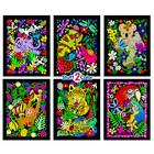 Stuff To Color . SFC Parrot 6-Pack Monkey, Parrot, Tiger, Koala, Gecko, Elephant