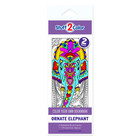 Stuff To Color . SFC Coloring Bookmark Ornate Elephant