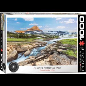 Eurographics Puzzles . EGP Glacier National park – 1000pc Puzzle