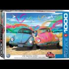 Eurographics Puzzles . EGP VW Beetle Love – 1000pc Puzzle