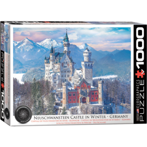 Eurographics Puzzles . EGP HDR-Neuschwanstein in Winter – 1000pc Puzzle