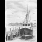 "Royal (art supplies) . ROY Fishing Boat Sketching Made Easy Kit 9""X12"""