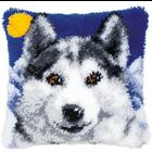 Vervaco . VVC Wolf - Vervaco Cushion Latch Hook Kit