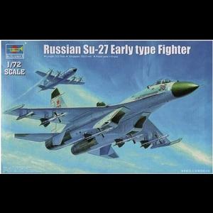 Trumpeter . TRM 1/72 SUKHOI SU-27 RUS FGH