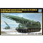 Trumpeter . TRM 1/35 Ex-Soviet 2P19 Launcher w/R-17 Missile (SS-1C SCUD B) of 8K14 Missile System Complex