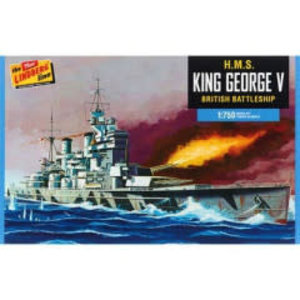 Lindberg . LND 1/750 H.M.S. King George V