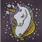 "Leisure Arts . LSA Heart Unicorn - Diamond Art (Beginner) 8"" X 8"""