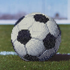 "Leisure Arts . LSA Soccer Ball - Diamond Art 10"" X 10"""